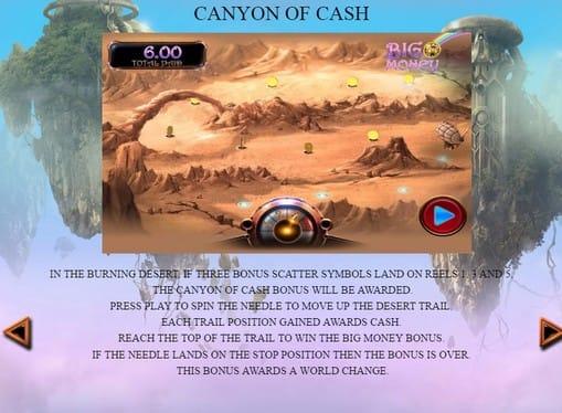 Правила игры в аппарате Castles in the Clouds