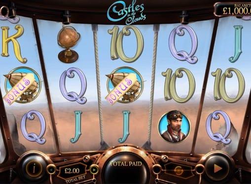 Бонусные символы в автомате Castles in the Clouds