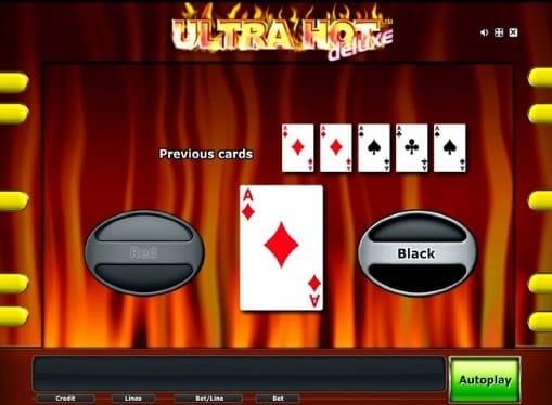 Риск игра в автомате Ultra Hot Deluxe