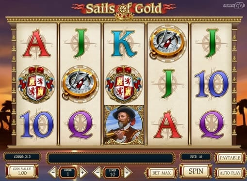 Комбинация символов в онлайн игре Sails of Gold