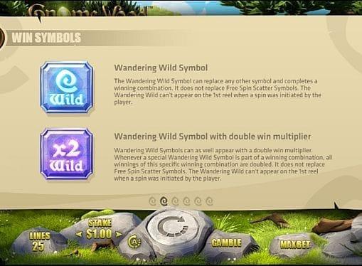 Wild в игре Gnome Wood