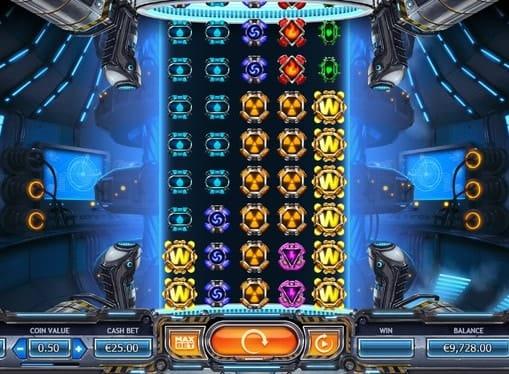 Символы игрового онлайн автомата Power Plant
