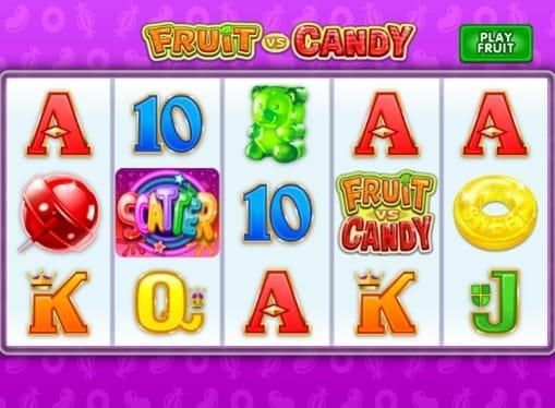 Scatter в игровом автомате Fruit vs Candy