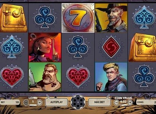 Символы игрового аппарата Wild Wild West