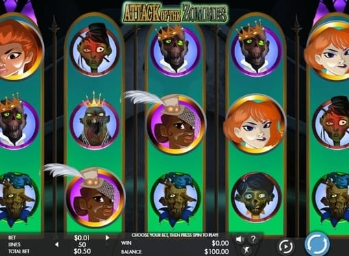Выигрышные символы в слоте Attack of the Zombies