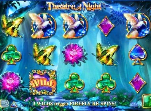 Дикий символ в игровом автомате Theatre of Night