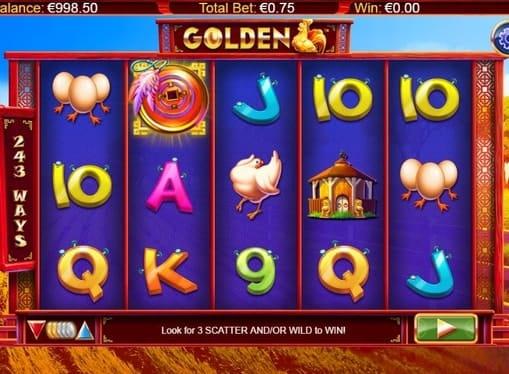 Выигрыш в слоте Golden Hen