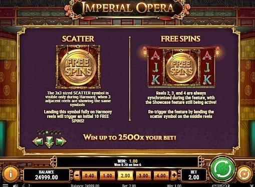 Фриспины в Imperial Opera онлайн