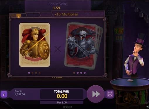 Бонусная игра онлайн аппарата Marioni Show