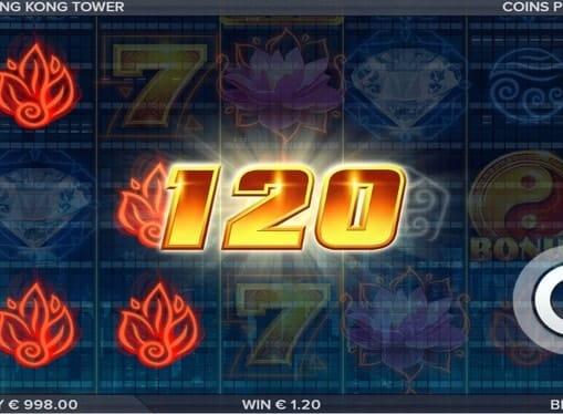 Выигрыш в онлайн автомате Hong Kong Tower