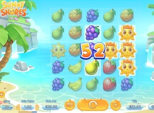 Дикие символы в онлайн автомате Sunny Shores